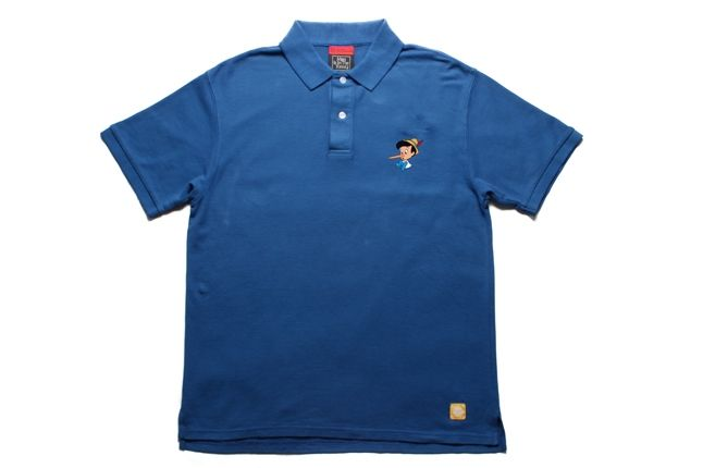 Pinocchio Polo Blue 1