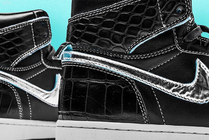 Diamond Air Jordan1 Surgeon Sneaker Freaker2