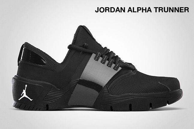 Jordan Alpha Trunner Black 1