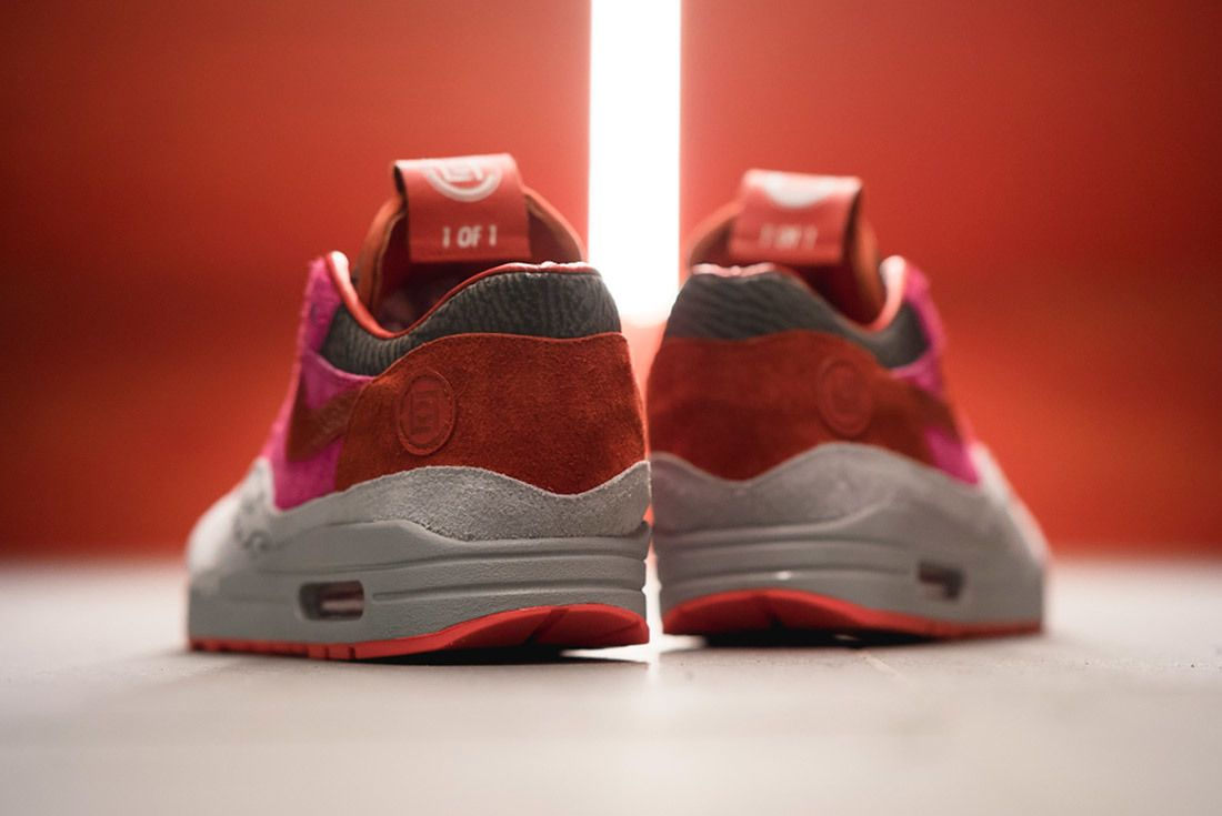 Bespoke Ind Clot X Nike Air Max 1 1 Of 1 For Edison Chen 8
