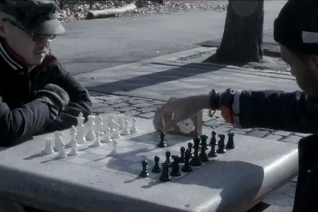 Black History Month Campaign Chess Match 1