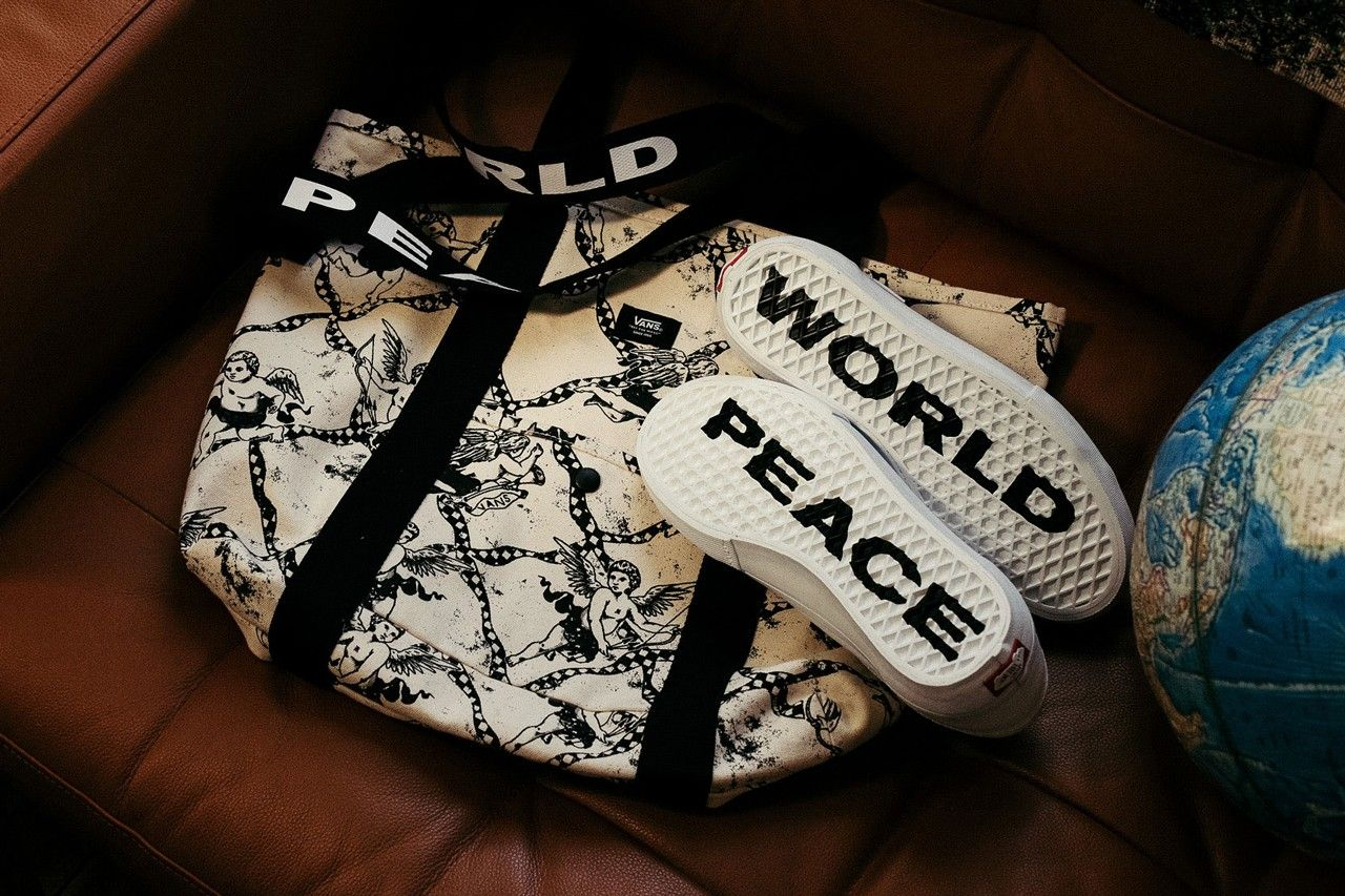 Vans Justin Henry Style 36 World Peace Sole