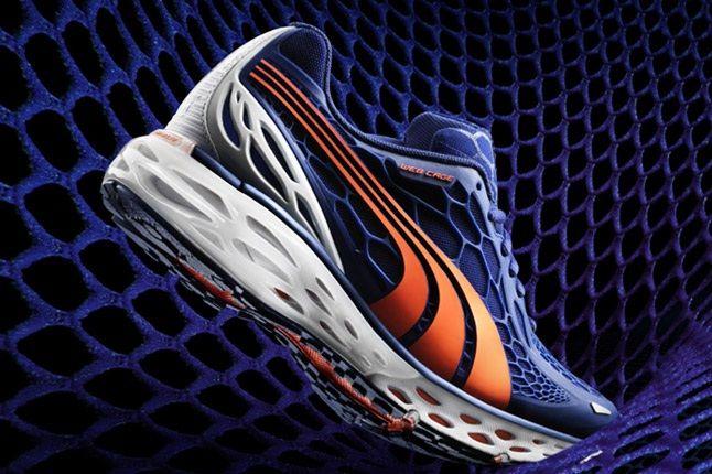 Puma Running Bioweb Elite Blue Orange 1