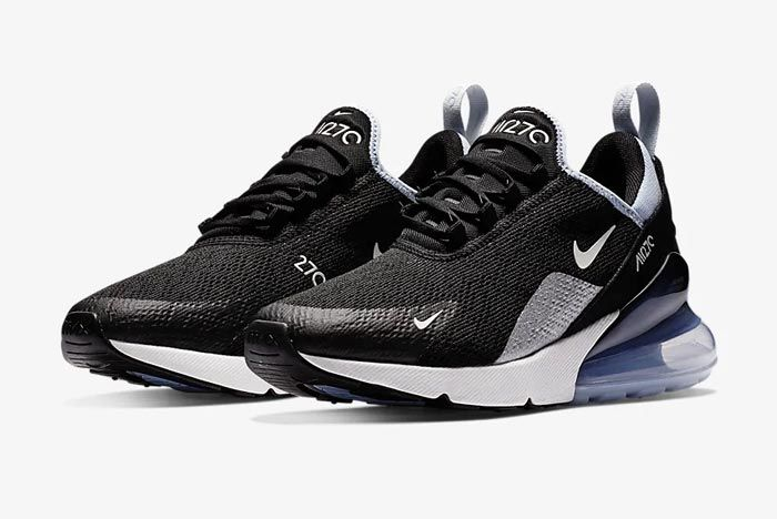 Nike Air Max 270 Aluminum Ah6789 009 Pair
