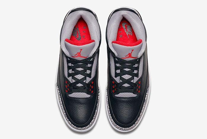 Air Jordan 3 Black Cement 3
