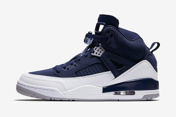 Air Jordan Spizike White Navy Blue 2