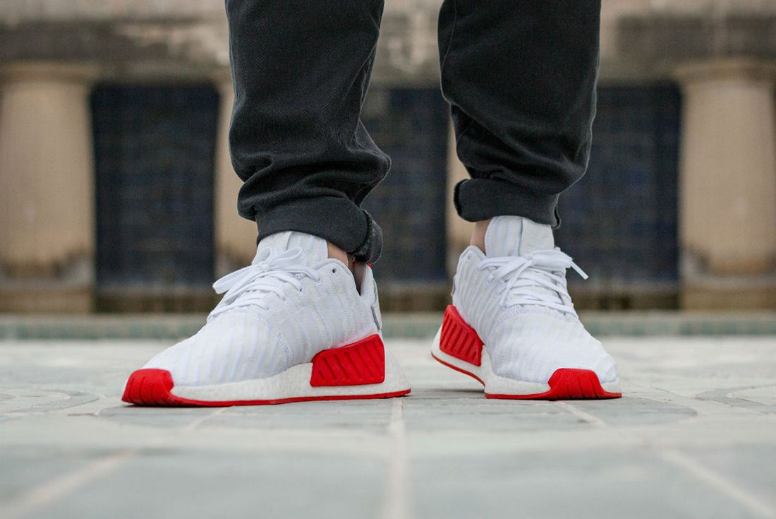 Adidas Nmd R2 Red Sole