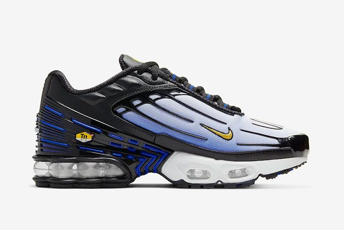 Nike Air Max Plus 3 Hyper Blue Cd6871 001 Medial