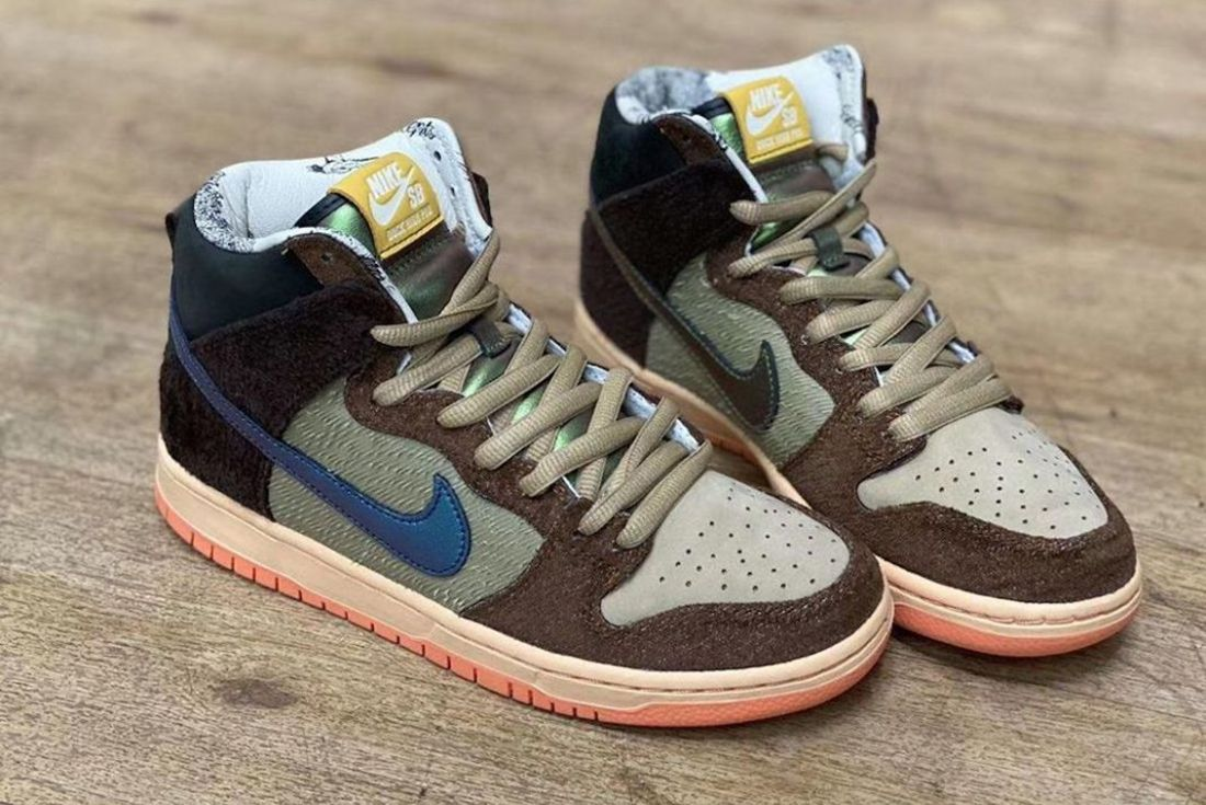 """First Look: Concepts x Nike SB Dunk High """"Duck"""""""
