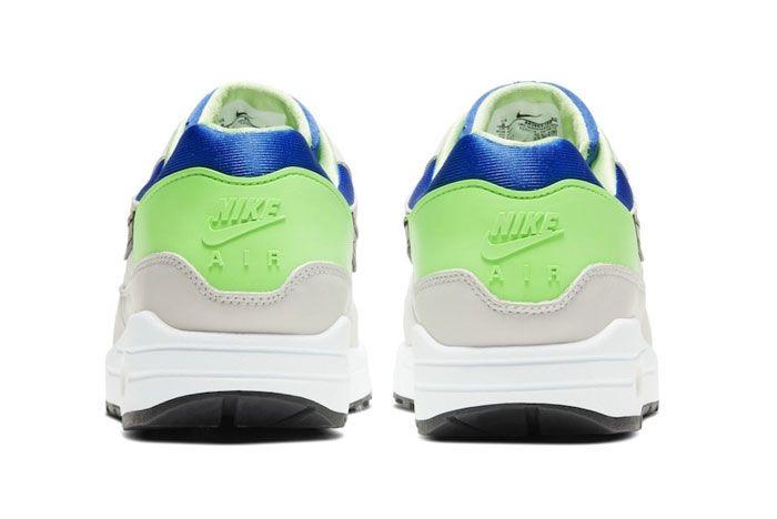 Nike Huarache Pack Air Max 1 Scream Green Heel