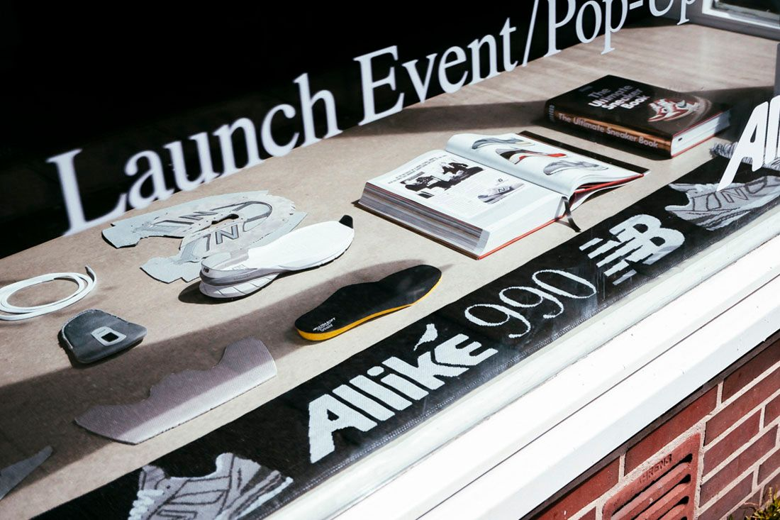 New Balance 990V5 Allike Launch Event Recap May 2019 23 Window Display