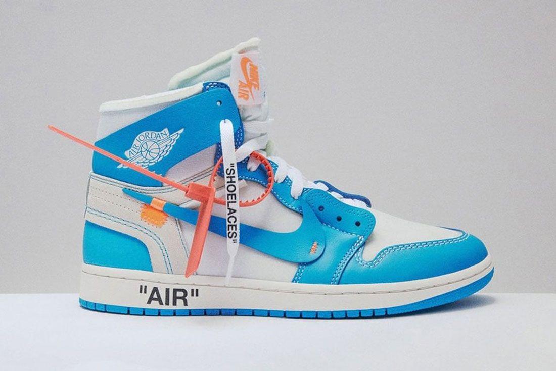 Off White Air Jordan 1 Unc Right