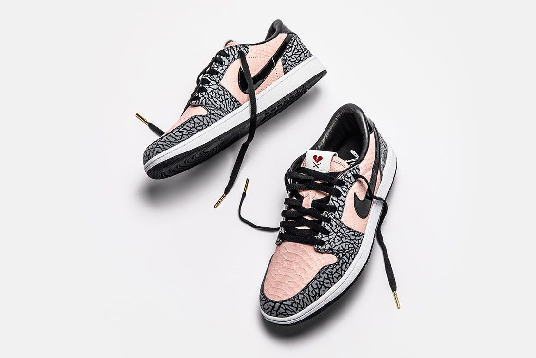 Shoe Surgeon Aj1 Low Sb Heart Breaker Floating