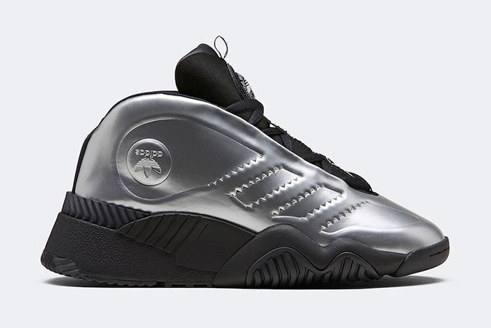 Alexander Wang Adidas Aw Futureshell Silver Medial Side Shot
