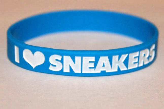 I Love Sneakers Bands Blue 1