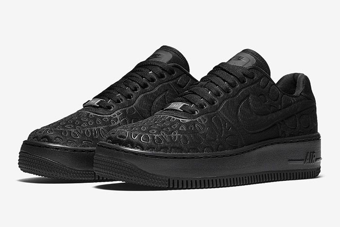 Nike Air Force 1 Upstep Se Black 1