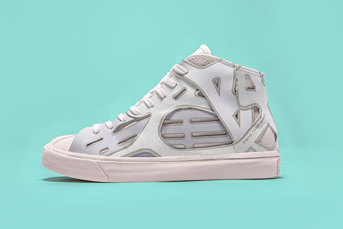 Feng Chen Wang Converse Jack Purcell White Left