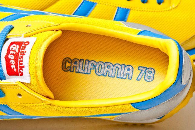 Onitsuka Tiger California 78 Yellow Blue 4 1