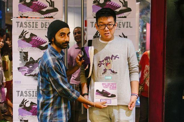 Sneaker Freaker X New Balance 998 Tassie Devil Limited Edt Launch Devil Jumper 1