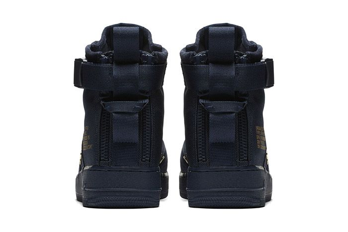 Nike Sf Air Force 1 Mid Obsidian 1