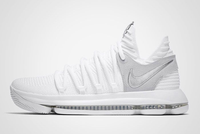 Nike Zoom Kd 10 Pure Platinum Thumb