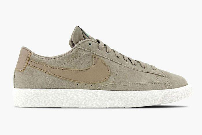 Nike Blazer Low Khaki Fresh Mint 4