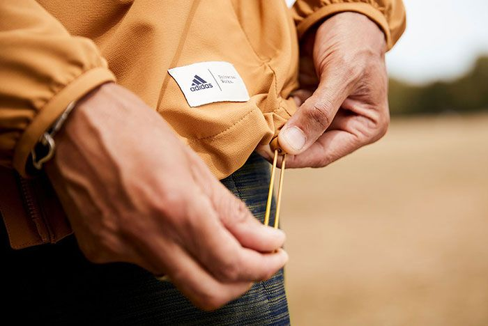 Universal Works Adidas Ultraboost 19 Running Jacket Cord Detail