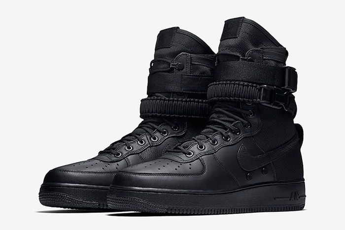 Nike Sf Air Force 1 Black Friday Triple 6