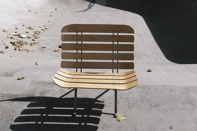 Skateboard Deck Chair 7