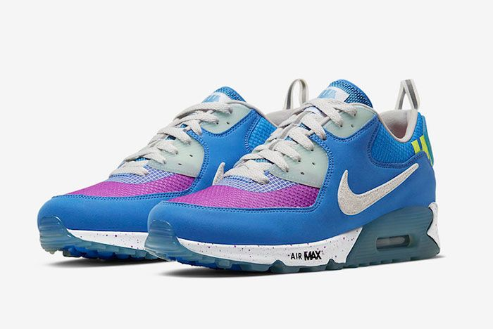 Undefeated Nike Air Max 90 Pacific Blue Cq2289 400 Release Date Official