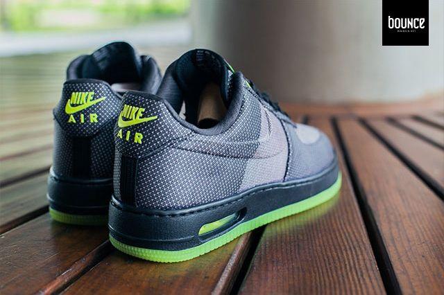 Nike Air Force 1 Vt Jacquard Grey Volt 6