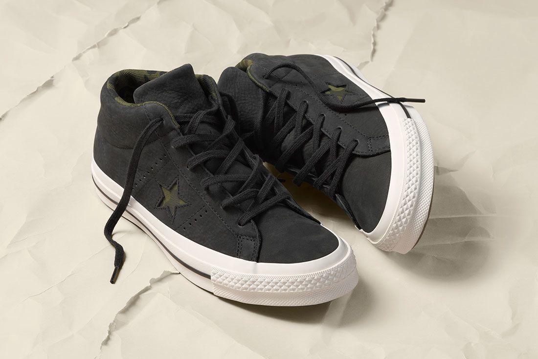Sp18 Os Mid Camo Multi Black 159747 C 1 77034 Converse One Star Sneaker Freaker