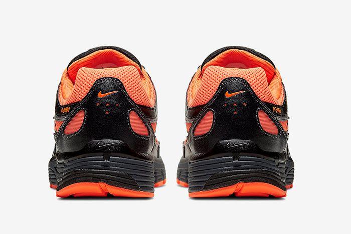 Nike P 6000 Total Orange Heel