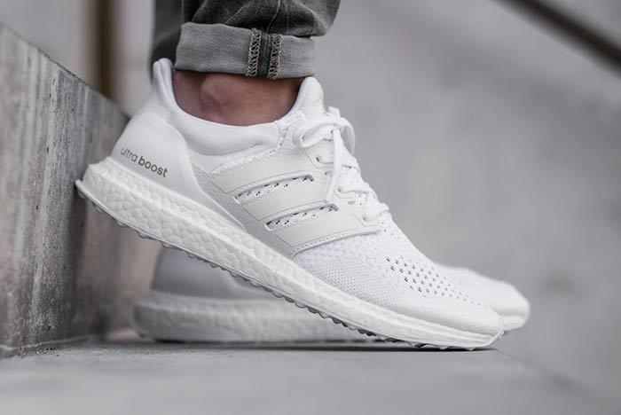 Adidas Ultra Boost Triple White 1