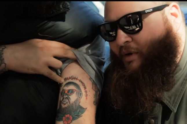 Action Bronson Melbourne Tattoo 1