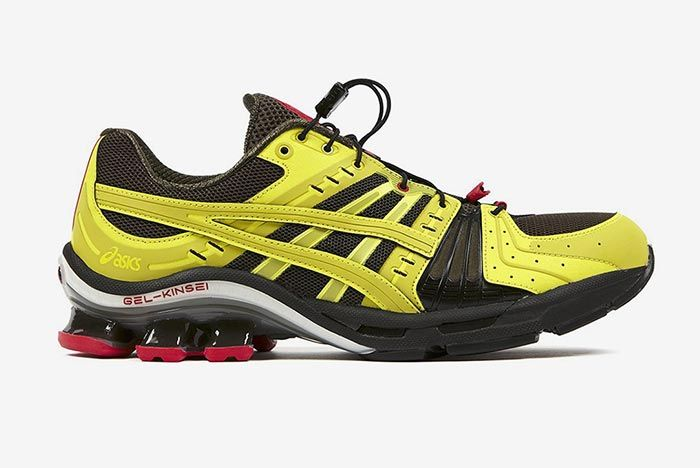 Affix Works Asics Gel Kinsei Yellow Lateral Side Shot