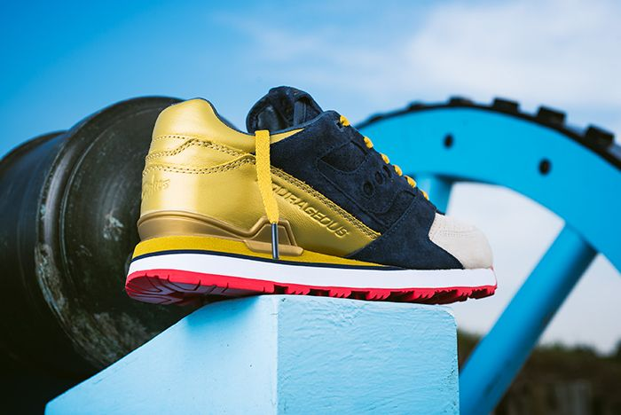 Sneaker Politics X Saucony Courageous The Jackson2