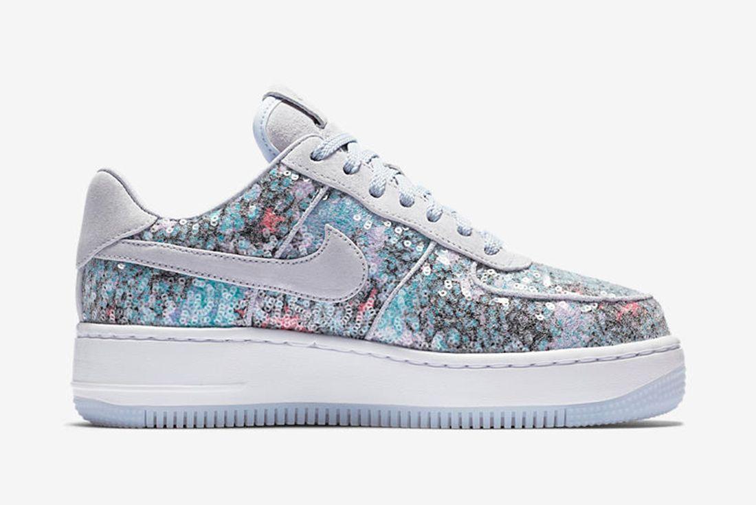 Nike Air Force 1 Upstep Low Glass Slipper 3