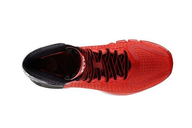 Adidas D Rose 4 Red Black 2