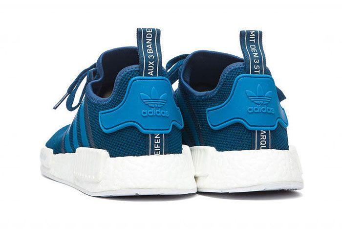 Adidas Nmd Blue White 3