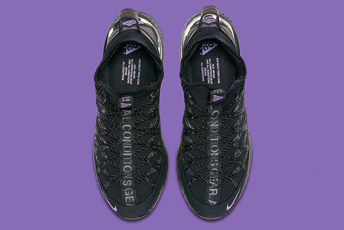 Nike Acg React Terra Gobe Black Purple Bv6344 001 Top
