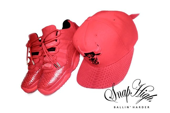 Snap High Jordan 11 Yeezus With Snap Back 1