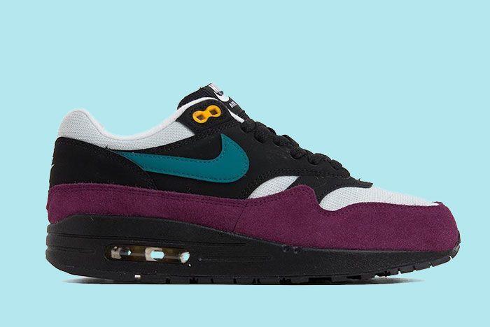 Nike Air Max 1 Black Geode Teal 319986 040 Release Date