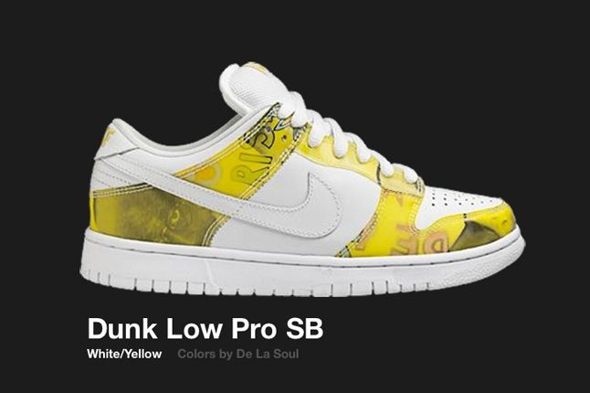 Nike Dunk Low Sb De La Soul 2005 1
