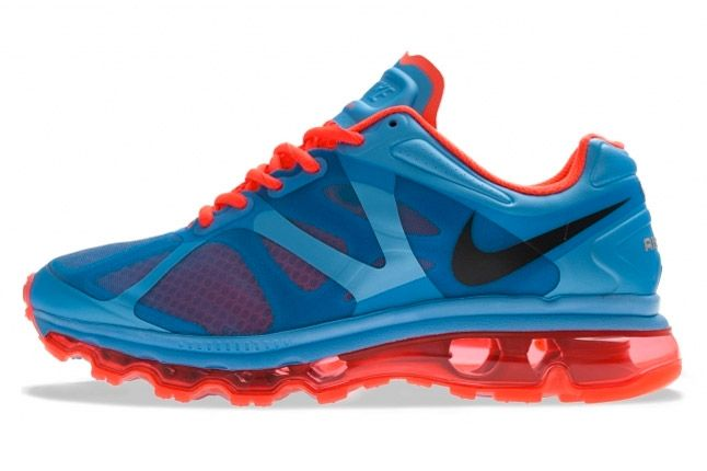 Nike Air Max 2012 University Blue Bright Crimson Side Profile 1