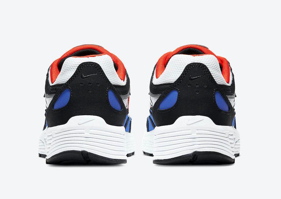 Nike P-6000 Team Orange Heel
