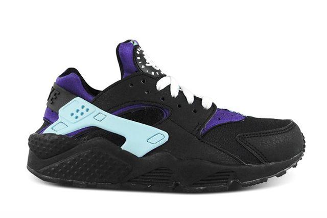 Nike Air Huarache Black Court Purple 3