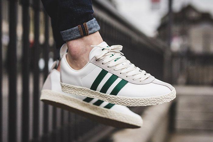Adidas Trainer Spezial White Green 3