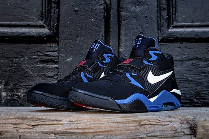 Nike Air Force 180 Black Sport Royal 5