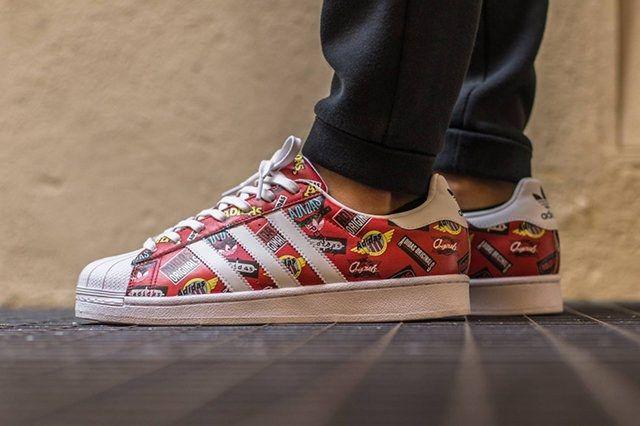 Adidas Originals Superstar By Nigo Superstar Scarlet2